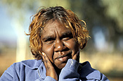 Portrait of an Aboriginal woman
