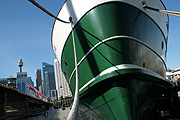 Australia, New South Wales, sydney, harbour, harbours, circular quay, ferry, ferries, south steyle, moore, moored, mooring, moorings.