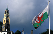 Wales, Welsh, flag, welsh, welsh flags, flags, portmeirion.