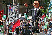 Australia, pollution, pollute, pollutes, polluting, fossil fuel, fossil fuel, environmental, environmental damage, nsw, sydney, walk against warming, global warming, protest, protests, protesting, people, protester, protesters, sign, signs, vote, votes, voting, election, elections, crowd, crowds.