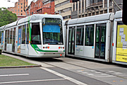 Australia, vic, victoria, melbourne, transport, transportation, vehicle, vehicles, tram, trams, sign, signs.