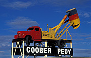 Australia, sa, south australia, coober Pedy, sign, signs, truck, trucks.