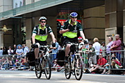 Australia, New South Wales, sydney, ambulance, ambulances, st johns ambulance, crowd, transport, crowds, festival, festivals, bicycle, bicycles, bicycles, cycle, cycles, cycling, helmet, helmets, emergency, emergency service, emergency services.
