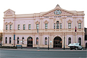 Australia, wa, western australia, kalgoorlie, road, roads, sealed, sealed road, sealed roads, town hall, town halls, hall, halls.