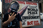 Australia, New South Wales, sydney, protest, protests, protester, protesters, demonstration, demonstrations, sign, signs, mask, masks, pollution, air, air pollution, world peace, people, man, men, male, males.
