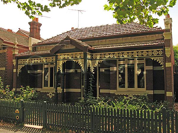 Stock Photo Image Australia Vic Victoria Melbourne House Houses