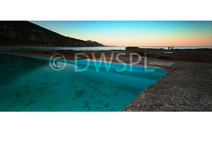 Swimming Pool At Coalcliff Beach On The South Coast New