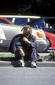 People, man, men, male, males, portrait, portraits, homeless, homeless people, homeless man, homeless men, derelict, derelicts, australia, sa, south australia, adelaide, alcoholic, alcoholics, hat, hats, road, roads, sealed, sealed road, sealed roads, car, cars, vehicle, vehicles.