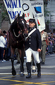 Australia, Animal, Animals, Horse, Horses, anzac, anzacs, anzac day, anzac days, anzac day march, anzac day marches, lighthorse, lighthorse brigade, bridle, bridles, man, men, male, males, outdoors, sydney, nsw, new South Wales, australia.