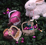 Easter, Easter scene, Easter scenes, easter egg, easter eggs, toy, toys, fluffy toy, fluffy toys, chocolate, egg, eggs, rabbit, rabbits, chocolate egg, chocolate eggs, stuffed toy, stuffed toys, stuffed animal, stuffed animals, basket, baskets, paper.