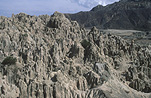 Bolivia, la Paz, Moon Valley, Valley, Valleys, valle de la luna, cliff, cliffs, South America, erode, erodes, erosion, rock, rocks.