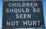 Sign, Signs, child protection, child protection sign, child protection signs, cape town, south africa, violence, abuse, child abuse, domestic violence, social issues.