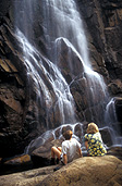 People images, Children, Puberty, Adolescents, Teenagers, Young People, girl, girls, teenage girl, teenage girls, female, females, teenage boy, teenage boys, boy, boys, male, males, outdoors, water, waterfall, waterfalls, running water, couple, couples, HOL08,