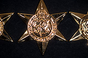 Medal, medals, world war two, world war II, WWII, WWII medal, WWII medals, war medal, war medals, ribbon, ribbons, bravery medal, bravery medals, bravery award, bravery awards, africa star.