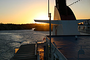 Australia, transport, transportation, vehicle, vehicles, ferry, ferries, boat, boats, ship, ships, shipping, vessel, vessels, Spirit of Tasmania, ferry, ferries, passenger ferry, passenger ferries, sunset, sunsets, sunrises and sunsets, mood, mood scene, mood scenes.