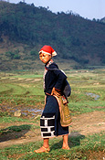 Vietnam, people, woman, women, female, females, sapa montagnard, girl, girls.