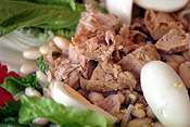 Food, fish, tuna, salad, salads, egg, eggs, lettuce, lettuces, PJ38,