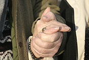 People, hand, hands, old, elderly, aged, old people, aged people, elderly people, ring, rings, jewellery, PJ38,