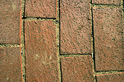 Wall, walls, brick, bricks, footpath, footpaths, footpath, footpaths, path, paths, pathway, pathways, pattern, patterns, repetition, repetitious, repetitive, PJ38,
