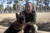 Australia, australian, sa, south australia, adelaide, people, occupation, occupations, police, policeman, policement, uniform, uniforms, man, men, male, males, armed forces, airforce, air force, RAAF, soldier, soldiers, dog, dogs, dog handler, dog handlers.