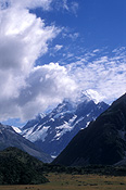 Pacific islands, new zealand, NZ, south island, glacier, glaciers, cook, mt cook, mount cook, mountain, mountains.