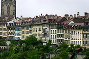 Europe, Switzerland, Swiss, Bern, Berne, Architecture, medieval, chimney, chimneys, roof, roofs, rooves, window, windows.