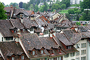 Europe, Switzerland, Swiss, Bern, Berne, Architecture, medieval, roof, roofs, rooves, window, windows.