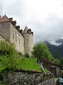 Europe, Switzerland, Swiss, Gruyeres, village, villages, architecture, gruyeres castle, castle, castles, fortress, fortresses.